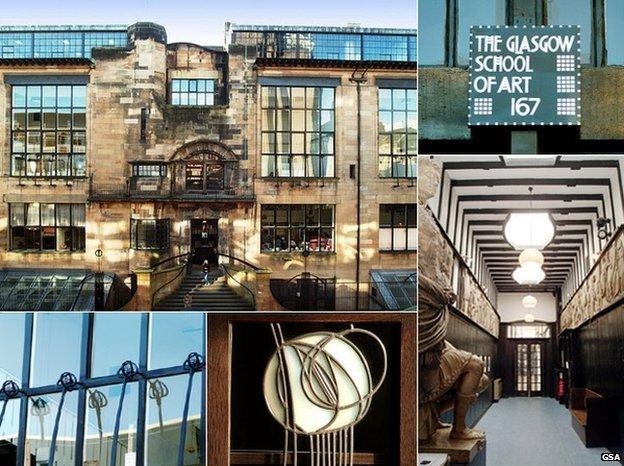 Glasgow School of Art: Fund to restore Mackintosh building